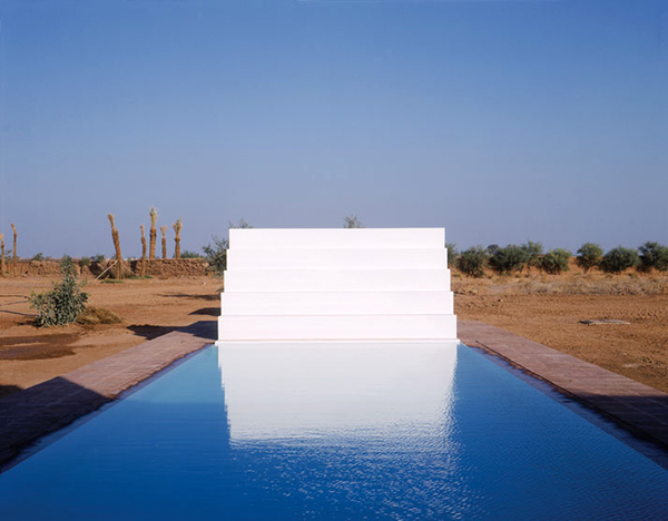 minimalist pool house marrakech 2 Minimalist Pool House in Marrakech