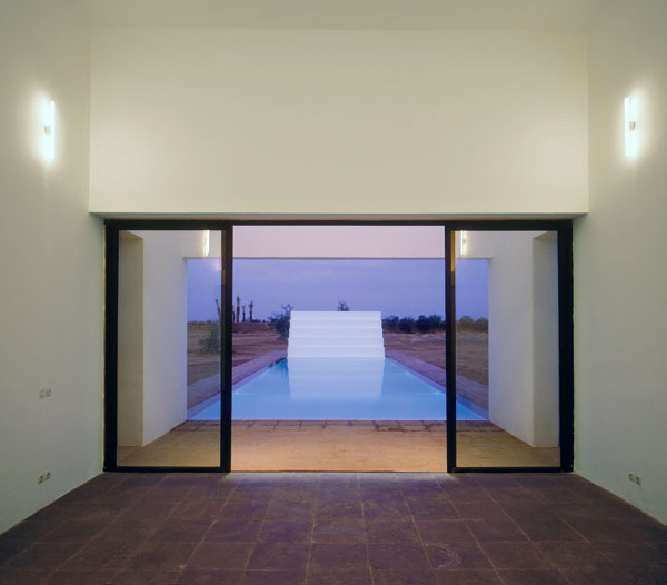 minimalist pool house marrakech 7
