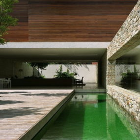 Luxury Cave House by Architect Marcio Kogan
