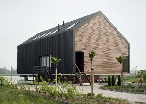 Modern barn design in netherlands by jagerjanssen architects for Barn style house