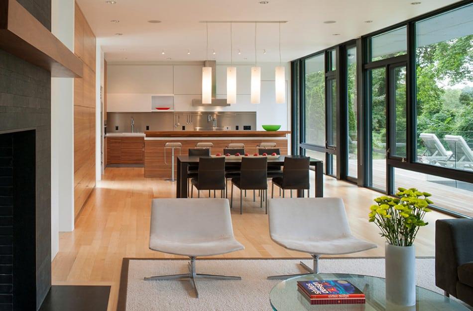 Modern Box House with Interior Glass Bridges | Modern ... on Glass House Design Ideas  id=44067