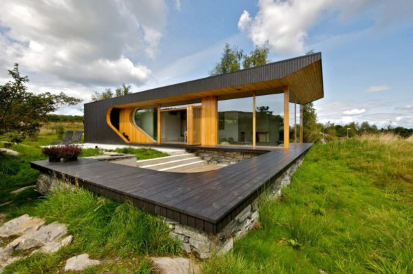 Modern Cabin Norway 1 Cool Cabin Designs Tommie Wilhelmsen, Norway