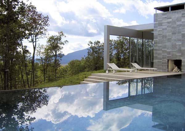 modern catskills house audrey matlock architects 7 Modern Catskills House by Audrey Matlock Architects