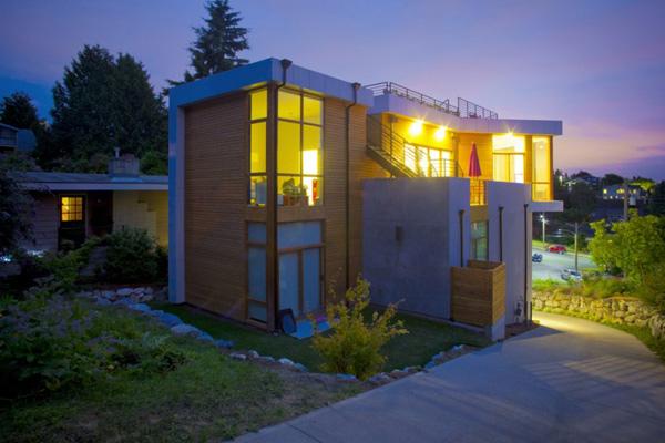 modern geometric architecture urban seattle home 2 Modern Geometric Architecture – Urban Seattle Home