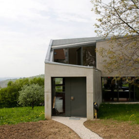 Modern German Architecture – Unusual Concrete House Plan
