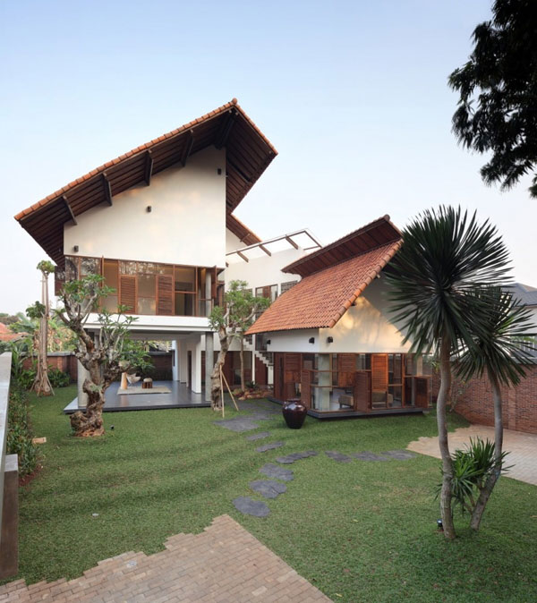 modern indonesian houses 1 Modern Indonesian Houses – A Beautiful Balance