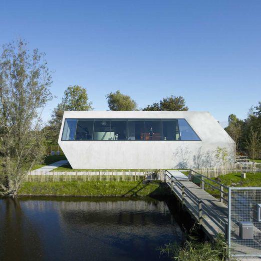 Modern Island House Amsterdam 1 Modern Island Home In Amsterdam Nature  Reserve