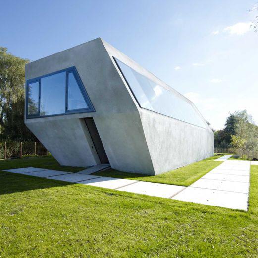 modern island house amsterdam 3 Modern Island Home in Amsterdam Nature Reserve