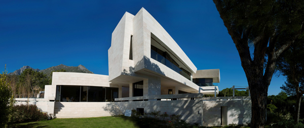 modern marble home acero architects 1 Modern Marble Home by A cero Architects