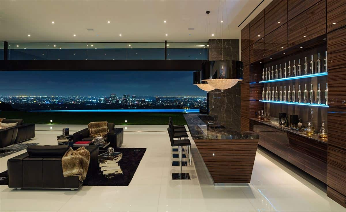 This Modern Masterpiece With Best Views In Bel Air And