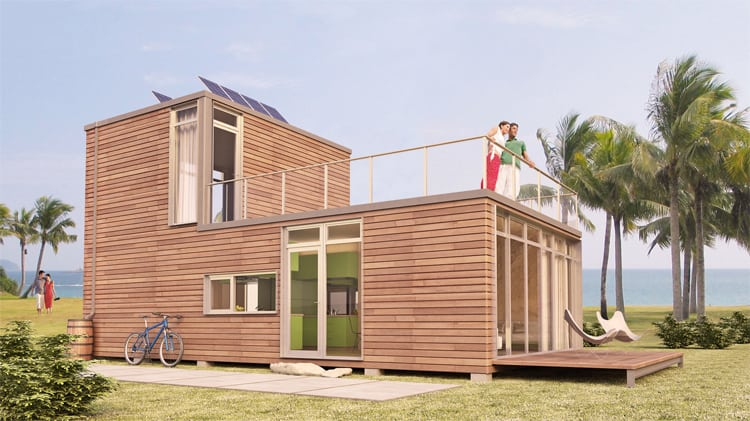 Luxury modular home by meka thor 960 for Luxury modular homes