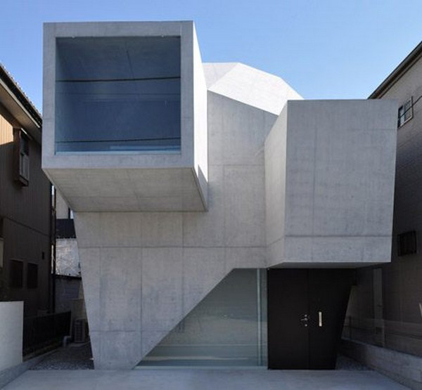 modern shape architecture japanese gallery house 1 Modern Shape Architecture: Japanese Gallery House