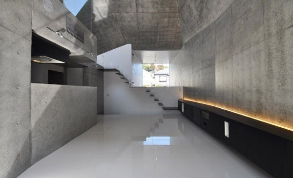 modern shape architecture japanese gallery house 3 Modern Shape Architecture: Japanese Gallery House