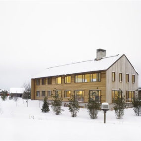 Modern Ski Cabins: Collingwood, Ontario