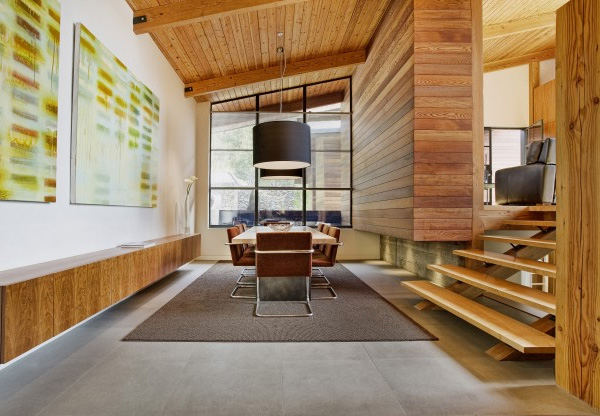 Modern Timber Architecture San Francisco Retreat By