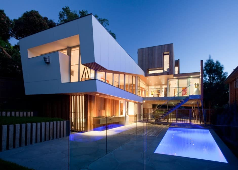 Innovative glass home architecture by vibe design group for Glass house design architecture