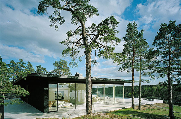 modernist swedish architecture 2 Modernist Swedish Architecture over Sea and Sun