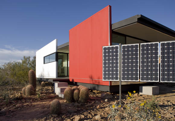 modfab 5 Prefab Desert Homes   modern sustainable prefab home