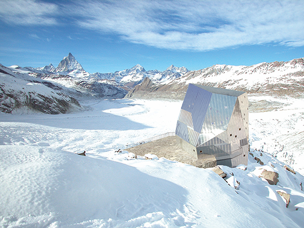 monte rosa 1 Sustainable Mountain Hut Design in the Swiss Alps, Monte Rosa area