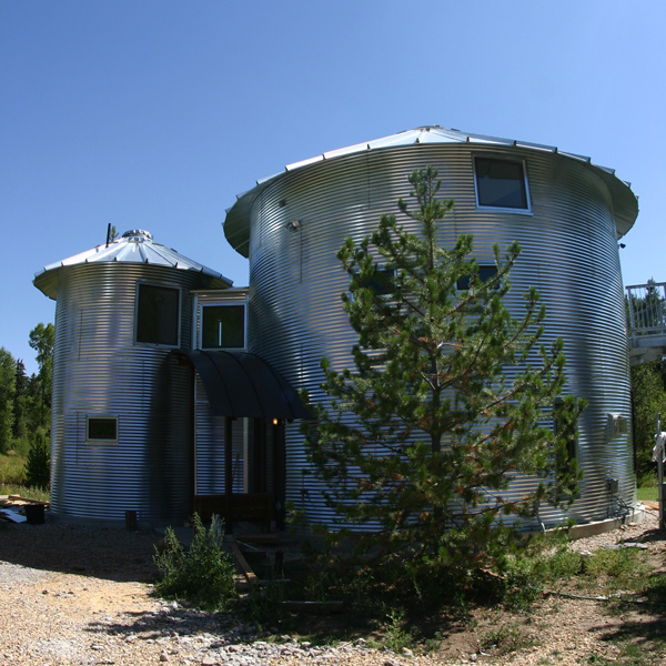 monte silo house 3 Silo House in Utah   grain silos rock!