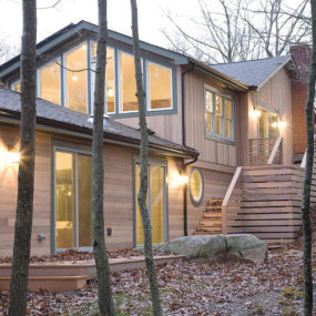 Eco Wooden House brings sustainability and luxury to the forest