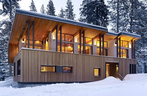 Mountain Dream Cabin by John Maniscalco Architecture