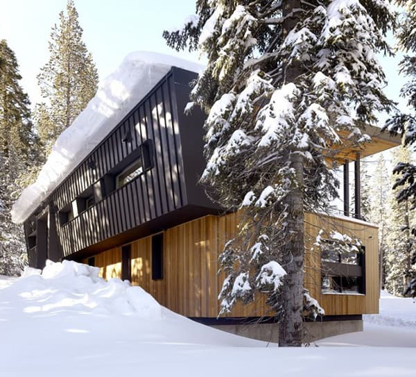 mountain dream cabin 10 Mountain Dream Cabin by John Maniscalco Architecture
