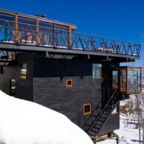 Mountain Chalet Design in the Andes, Chile
