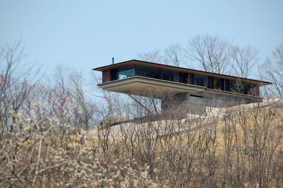 Mountain Home Glass Walls and Terrace Made for Views