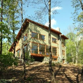 Sustainable Cottage by Carter+Burton – Red Oak Mountain House
