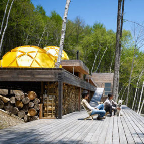 Mountain Cottage Design of Wood and … Tents