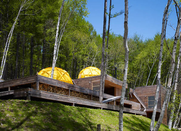 mountain research house 2 Mountain Cottage Design of Wood and ... Tents