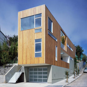 Narrow Home Designs – slim, tall and eco-friendly in San Francisco