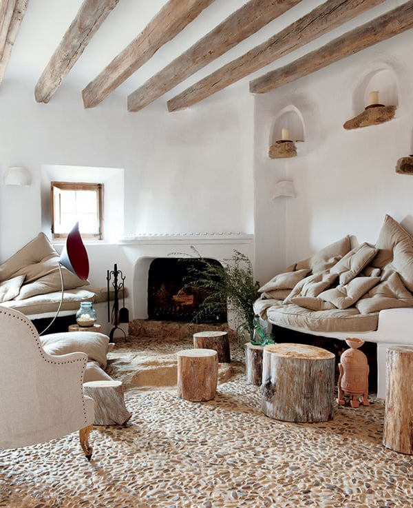Natural Home Design Ideas Stone Cave House