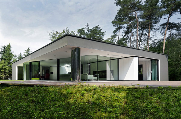 netherlands glass house 1 Netherlands Glass House with Future Forward Flair