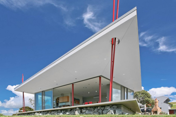 new zealand tent house holiday hotspot 2 New Zealand Tent House offers contemporary holiday hotspot