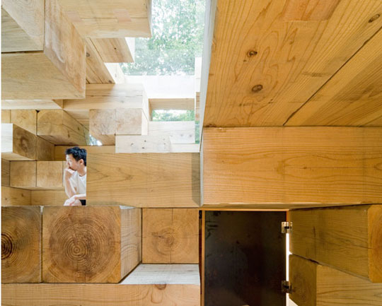 "next generation house 2 ""Puzzling"" Modern Design – Next Generation House is the Cottage of the Future"