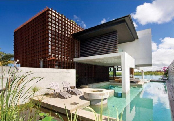 noosa house 2 Modern Luxury Home on Australia Sunshine Coast by architect Frank Macchia