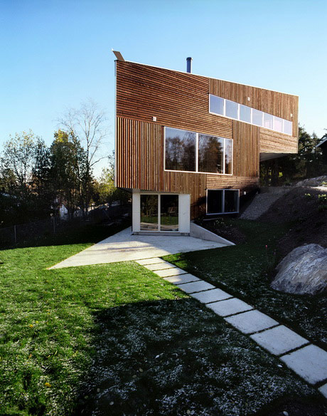 Norwegian wood house - Norwegian style house plans when classic meets modern ...