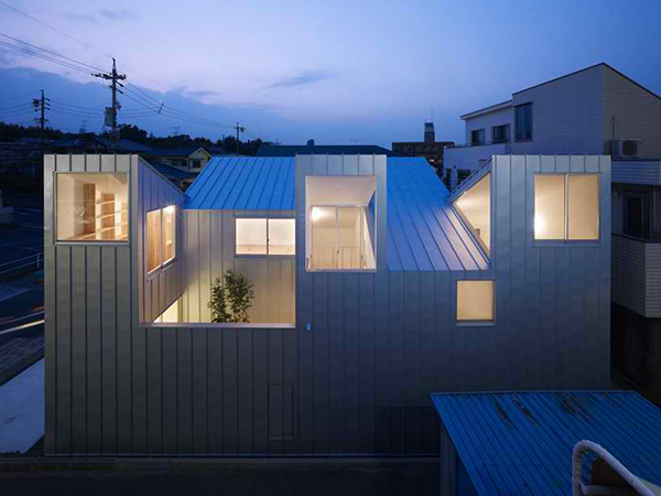 Odd Shaped Houses in Japan