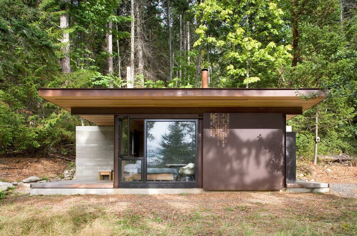 1 Room Cabin 7 clever ideas for a secure remote cabin
