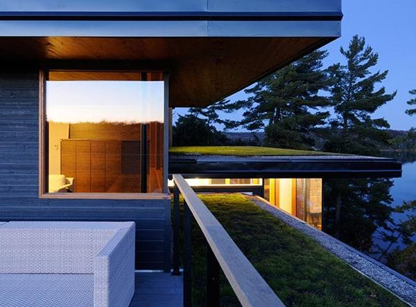 ontario eco house altius architecture muskoka 2 Ontario Eco House Operates Off the Grid