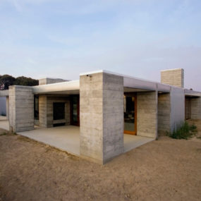 Prefabricated Concrete Home in Sonoma County, CA – aligned with the orchard!