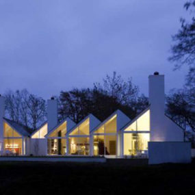 Irish Country House – 'origami' design in North Ireland