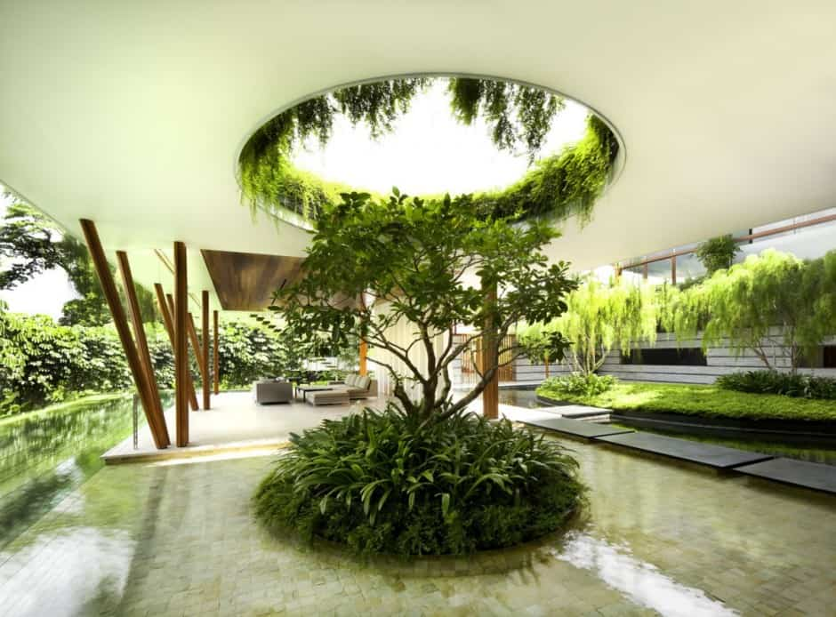 on courtyard house designs centered.html