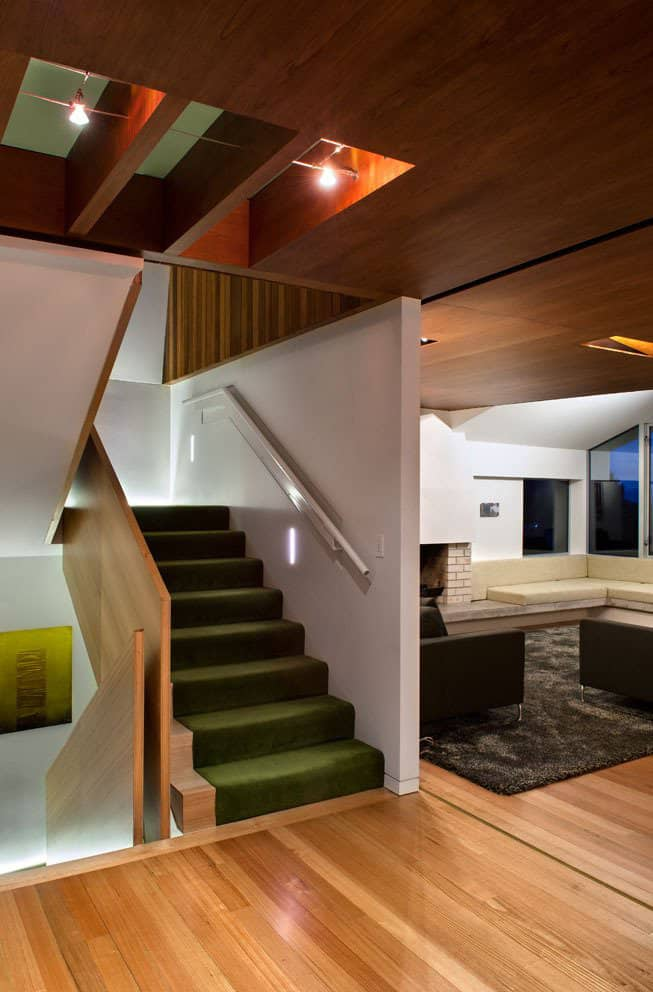 Outdoor Inspired House With Glass Walls Wood Ceilings