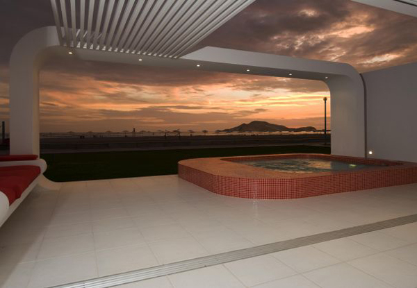 palabritas beach house 9 Beach House Design Ideas from Peru   frame the sunsets!