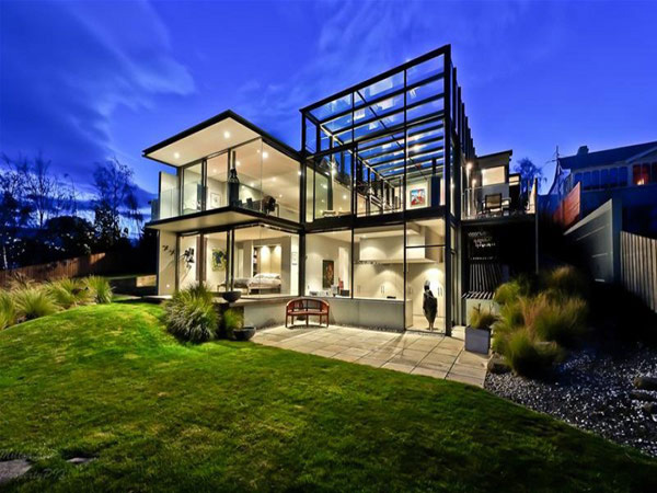 panorama house design 1 Panorama House Design: Glass Walls & Modern Interiors