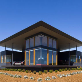 Panoramic House Plan on Australian Coast