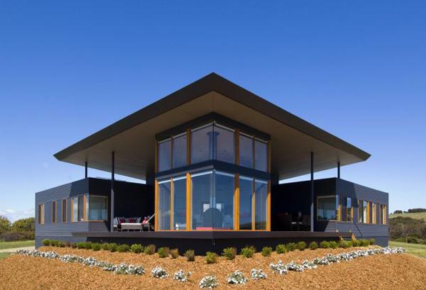 panoramic house plan australia coastline 1 Panoramic House Plan on Australian Coast